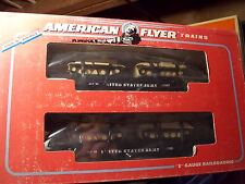 American Flyer AF Trains S Scale US Army Flat Car with Tanks 6-48507