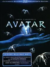 Avatar [Extended Collector's Edition] [3 Discs] Blu-ray Region A