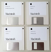 Apple Macintosh System 6.0.8 Complete Set of 800k Install Disks for Classic Macs