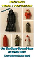 Vintage Star Wars HCF Pencil / Pen Toppers (1980s) Vader + More - One Supplied