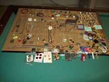 New listing Junk Drawer, Large Lot Of Jewerly And Craft Items New,Old And Vintage Items.