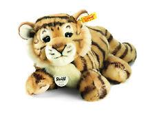 Steiff Radjah Baby Dangling Tiger, Striped, 28 cm, 066269. Ideal Child's Gift.