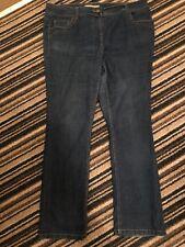 Evans Vintage Denim Ladies Blue Jeans Size 20