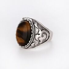 Men's/Women's Silver tigers eye RING Fashion Jewelry Size Pick FREE SHIPPING