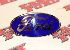 1932 Ford car radiator shell porcelain blue oval emblem-1932-1935 Pickup