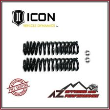 "ICON 2.5"" Lift Coil Spring Alignment Cam Kit For 05-20 Ford F250 F350 Super Duty"