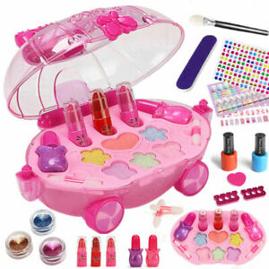 Kids Pretend Role Play Toys Real Beauty Makeup Set Children Girls Xmas Gift UK