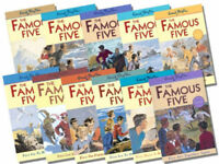 Enid Blyton Famous Five Series 11 Books Collection (11 To 21)Five Get Into a Fix
