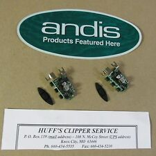 Andis Model SMC Excel 5 Speed Clipper Replacement  Switch & Pad   Get 2