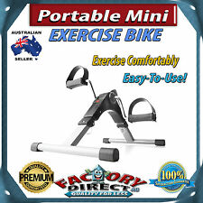 Professional Portable Mini Exercise Bike Easy-To-Use Fitness Workout Calories!