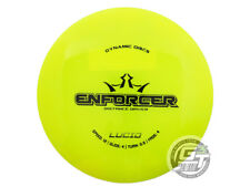 New Dynamic Discs Lucid Enforcer 173g Yellow Black Stamp Driver Golf Disc