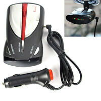 12V 16-Band 360° Car Speed Radar Detector GPS Laser Voice Alert Cobra XRS 9880