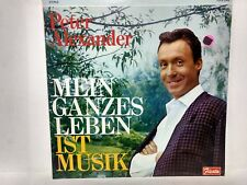 Rare Peter Alexander Mein Ganzes Leben Ist Musik  LP Record                lp811