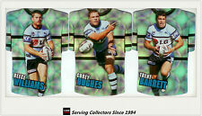 2009 Select NRL Classic Holofoil Jersey Die Cut Card Team Set Sharks (6)