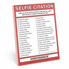 Knock Knock Nifty Note - Selfie Citation