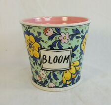 Anthropologie Molly Hatch Garden BLOOM Planter Take Root Collection NEW