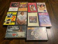 Cassette Tapes Lot Of 10