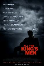 ALL THE KINGS MEN D/S Original Movie Poster One Sheet