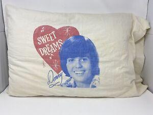 Donny Osmond Sweet Dreams Pillowcase Fan Club Donny Marie Osmond 70's