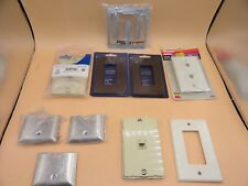 SWITCH COVER WALL OUTLET PLATES LOT (LOT OF 10)