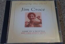 """Jim Croce """" Time in a Bottle / His Greatest Hits """"1994 CD / HTF ( Free Ship)"""