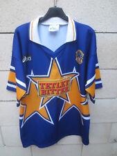 Maillot LEEDS Rugby à XIII League ASICS vintage shirt Tetley Bitter L