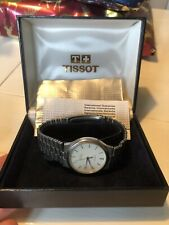 Tissot Seastar Quartz Gents. Full Working Order Watch With Original Box Papers