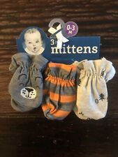 3 Pack Mittens 0-3m