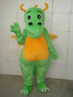Birthday Green Dinosaur Mascot Costume Cosplay Suits Party Game Dress Outfits @@