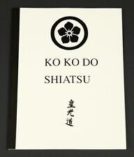 Ko Ko Do Shiatsu Manual