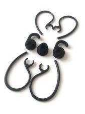 3pcs Black Earbuds 4pcs Black earhooks for Jabra EasyGo Easycall Clear Talk