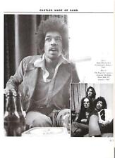 JIMI HENDRIX in a London pub '69 magazine PHOTO / Pin Up / Poster 11x8 inches