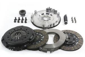 DKM MS Twin DIsc Clutch Kit W/ Flywheel for BMW E34/E36/E39/E46/Z3/Z4 5 Speed