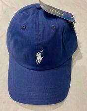 Adults  Size Ralph Lauren Polo baseball hats (blue  & White pony  )70%off