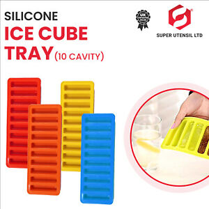 Bottle Ice Stick Tray Ice Cubes For Water Juice Soda Sport Bottle Silicon Colour