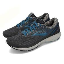 Brooks Ghost 11 Ebony Primer Grey Blue Men Running Shoes Sneakers 110288 1D