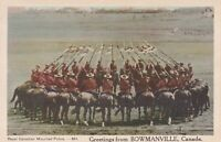 CANP009) PC Canada, Royal Canadian Mounted Police, Greetings from Bowmanville