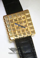 Chopard by De Grisogono Ice Cube 18k Yellow Gold Ladies Quartz Watch 27/7407