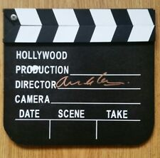 Armando Iannucci, 'Director', hand signed in person clapper board.