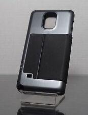 Incipio Highland Ultra Thin Premium Folio Samsung Galaxy Note 4 Black Silver