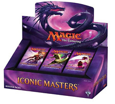 Factory Sealed Magic the Gathering Iconic Masters Booster Box English Mtg