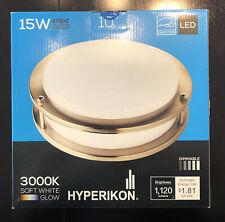 Hyperikon Ceiling Light 10 in. 3000K LED Flush Mount Integrated LED Dimmable!