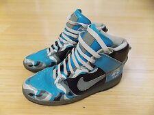 Nike Dunk High Premium Basketball Shoes Light Jade Gray Black - Size Mens 8.5