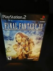 Final Fantasy XII 12 (Sony PlayStation 2, 2006) Complete Fast Shipping