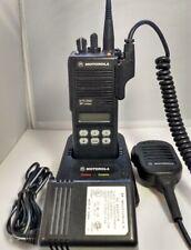 Motorola Mts2000 800mhz Model Ii 3 Watt Portable Two Way Radio H01ucf6pw1bn