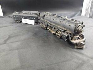 Lionel Post-Guerre 2055 O Jauge Hudson Vapeur Locomotive Et Tender