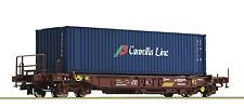 """Roco H0 76751 Einheitstaschenwagen """"Camelia Line"""" der RENFE - NEU + OVP"""
