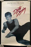 Vintage 1987 Dirty Dancing Movie Poster - Patrick Swayze