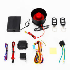 Universal 1-Way Car Burglar Alarm Vehicle Keyless Entry Security Siren+ Remote