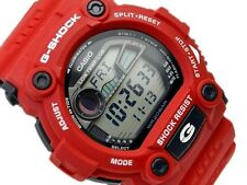 CASIO G-SHOCK, G7900A-4 G-7900A-4, MOON AND TIDE GRAPHS, RED, FREE SHIPPING